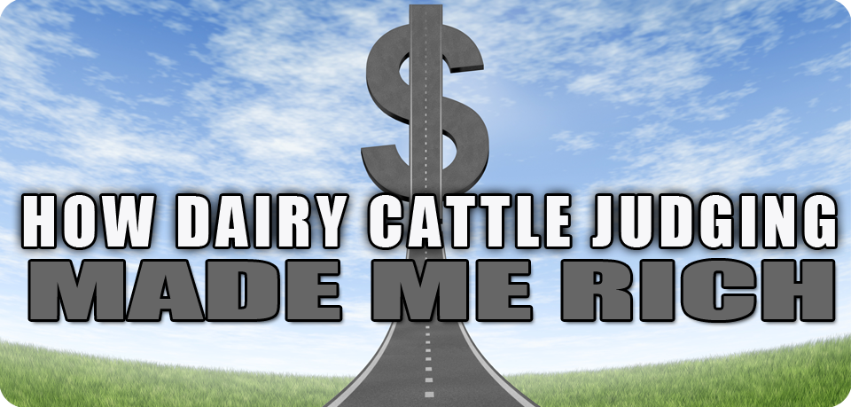 How Dairy Cattle Judging Made Me Rich