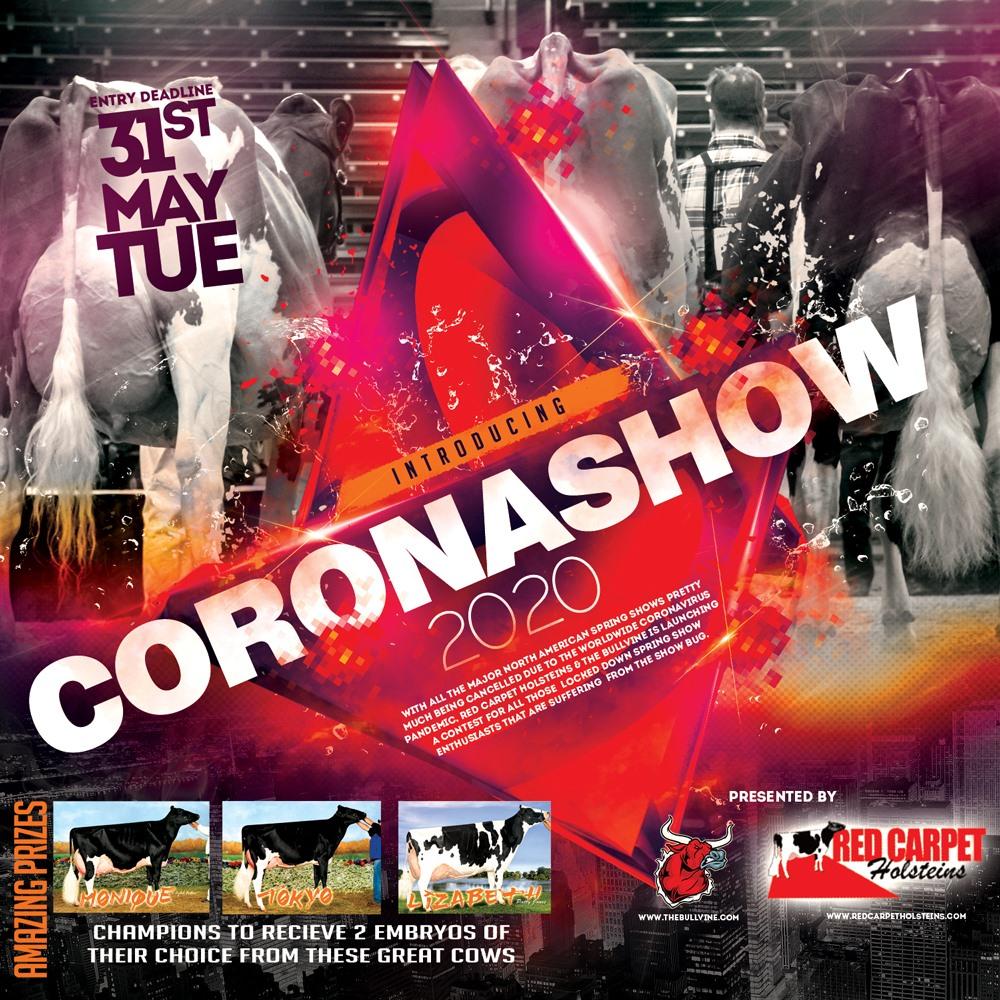 Coronashow 2020 – New Online Dairy Spring Show