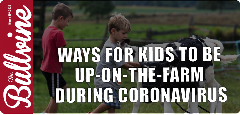 Ways For Kids To Be Up-On-The-Farm During Coronavi…