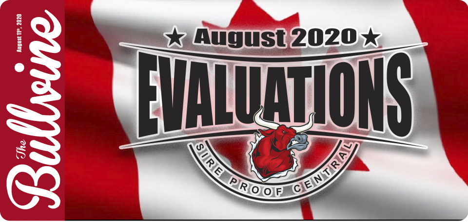 Canadian Holstein Highlights – August 2020