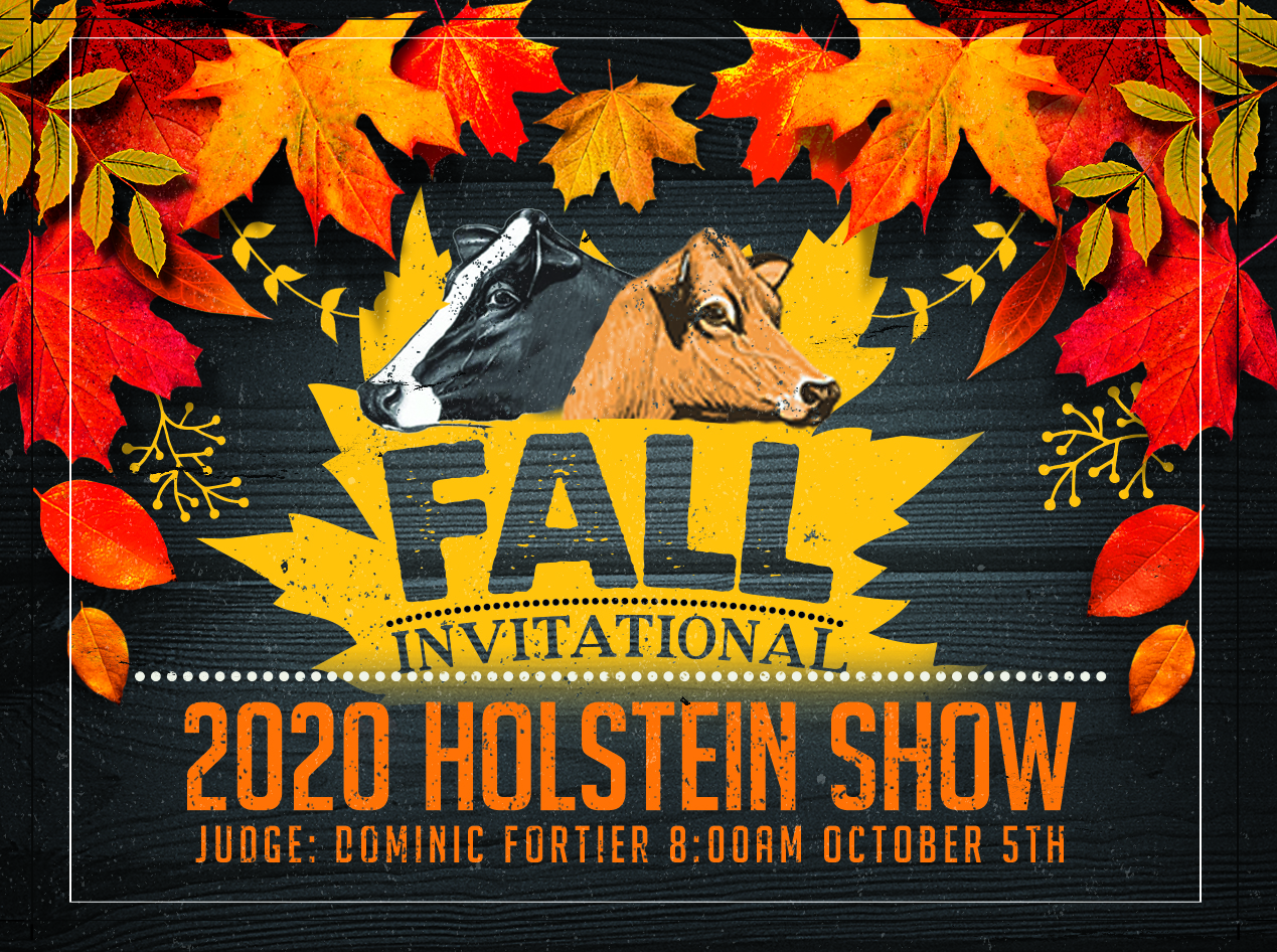 Fall Invitational Holstein Show 2020